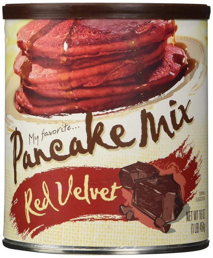 My favorite Pancake Mix Red Velvet