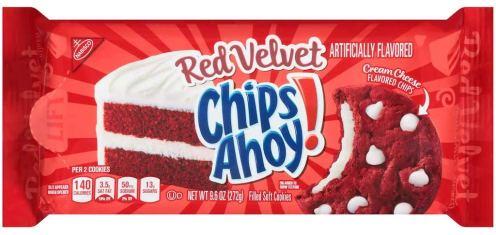 Nabisco Chip Ahoy Red Velvet 272G