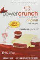 Power Crunch protein energy bar original red velvet protein genius 5er 200G