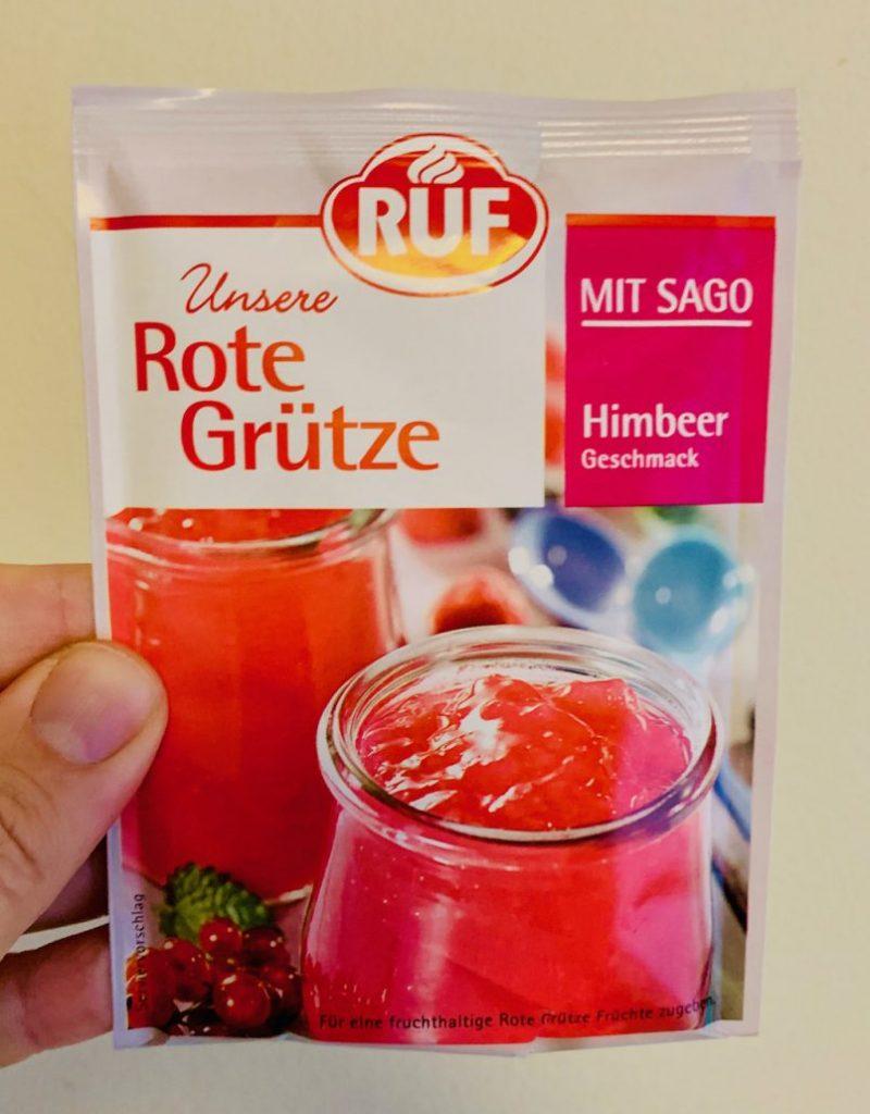 RUF Unsere Rote GRütze mit Sago Himbeer-Geschmack