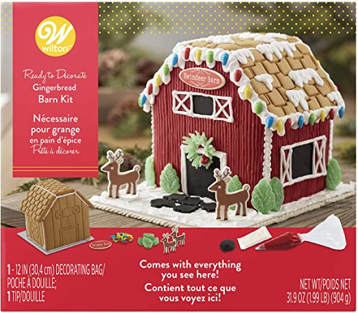 WIlton Gingerbread Barn Kit 904G