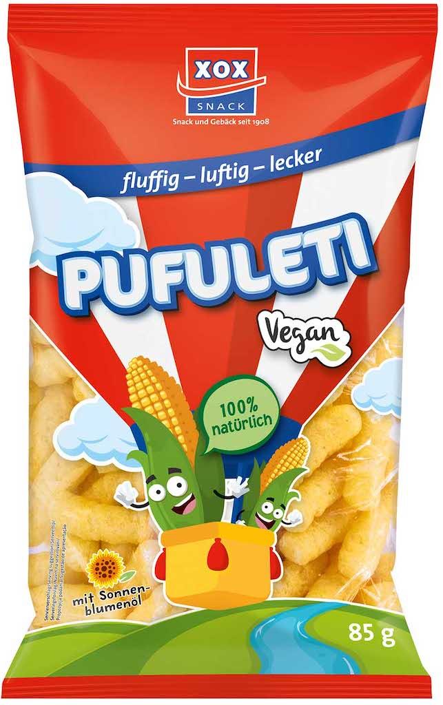 XOX Pufuleti Vegan Maissnack 85g