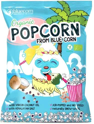 bluecorn Organic Popcorn from Blue Corn