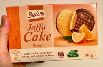 Aldi Biscotto Jaffa Cake Orange 300G