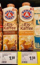 Bärenmarke Eiskaffee Cappuccino und Latte Macchiato