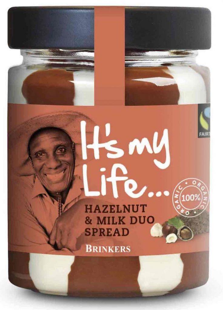 Brinkers It's my Life Hazelnut+Milk Duo Spread Nuss-Nugat-Aufstrich