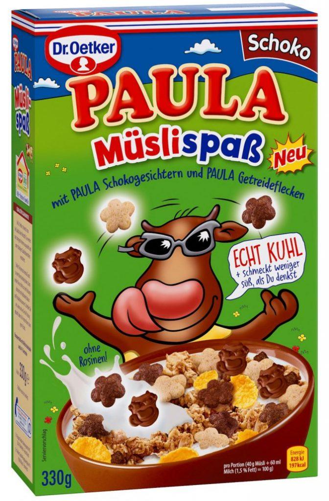 Dr. Oetker Paula Mueslispass Schoko
