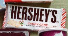 Hershey's Candy Can Mint Candy with Candy Bits
