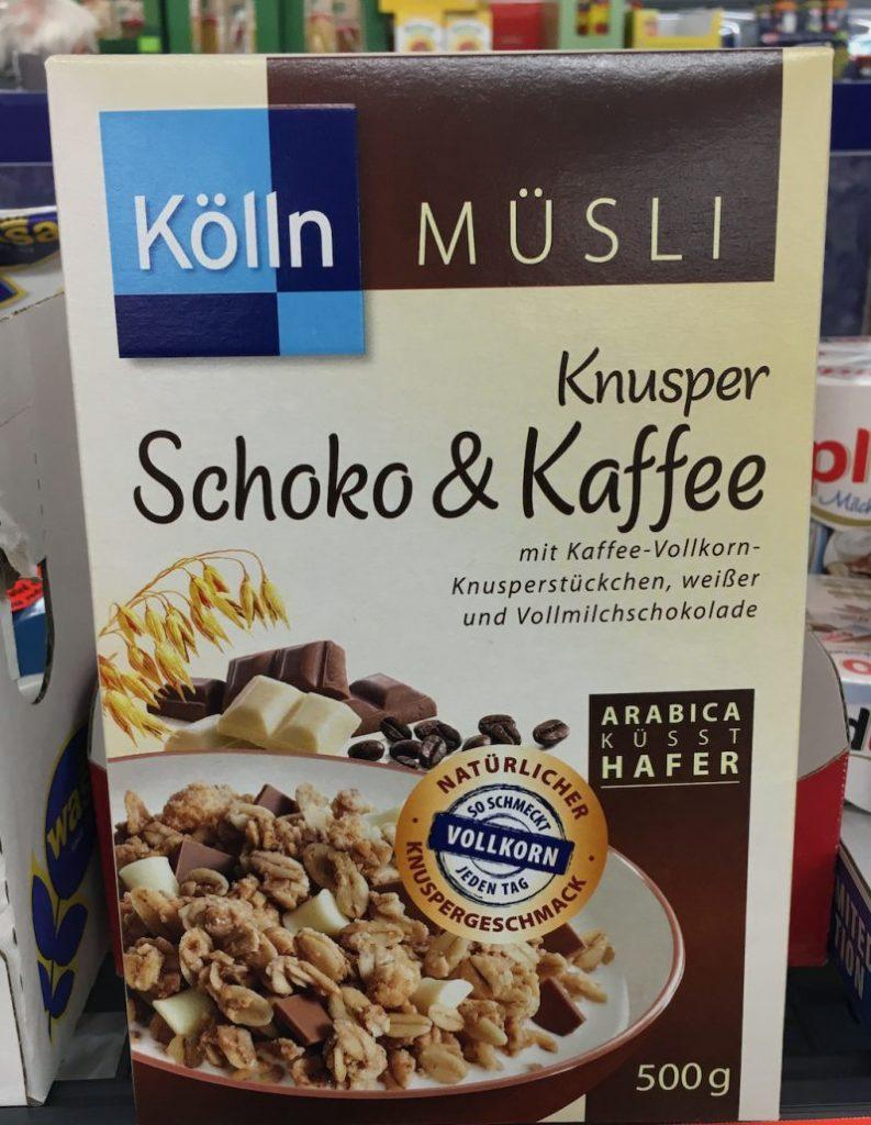 Koelln Müsli Schoko+Knusperkaffee 500G
