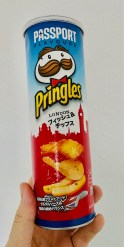 Pringles Passport Flavours London Fish+Chips Japan