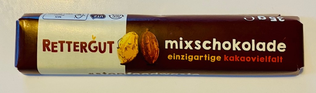 Rettergut Mixschokolade Riegel Einzigartige Kakaovielfalt
