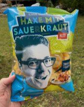 Dinner Chips Haxe mit Sauerkraut-Geschmack