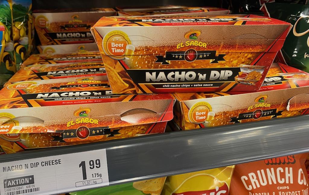 El Sabor Beer Time Nacho Dip Cheese