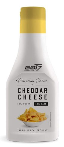Got7 Premium Sauce Cheddar Cheese Low Sugar Low Carb