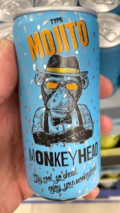 Monkey Head Mojito Drink Dose