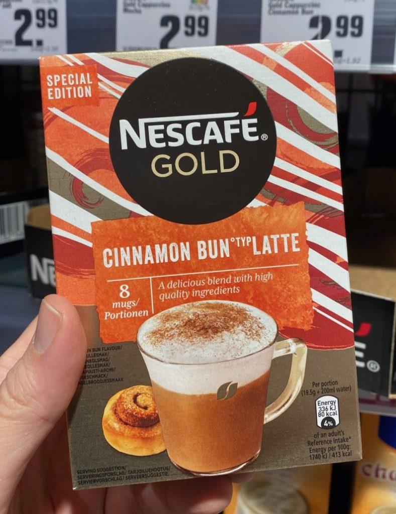 Nestlé Nescafé Gold Cinnamon Bun Latte