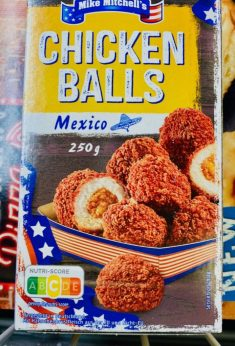 Penny Mike Mitchell's Chicken Balls Mexico 250G Nutri-Score
