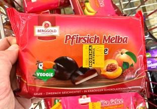 Berggold Pfirsich Melba Gelee