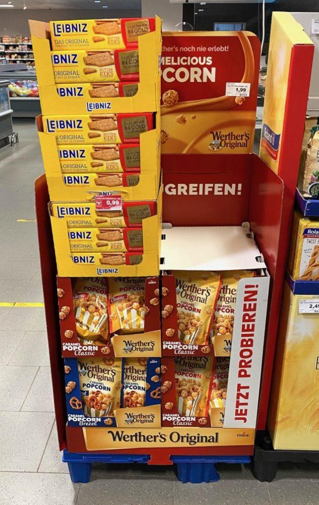 Display-Missbrauch Werthers Original vs Bahlens Leibnitz