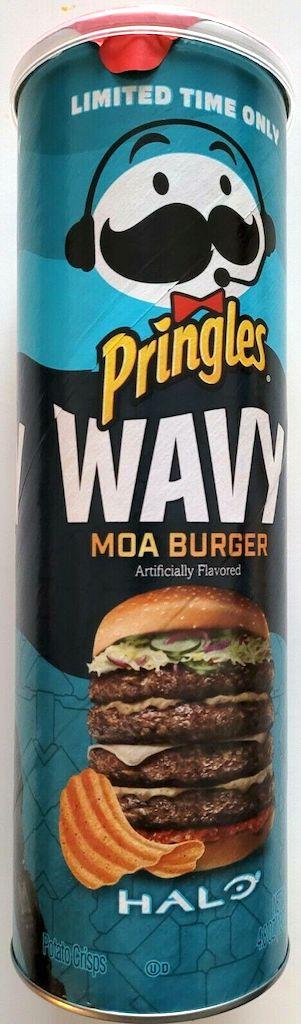 Pringles Wavy Moa Burger HALO