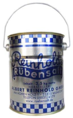 Reinholds Rübensaft im Blecheimer Albert Reinhold GmbH Wunstorf 2500G