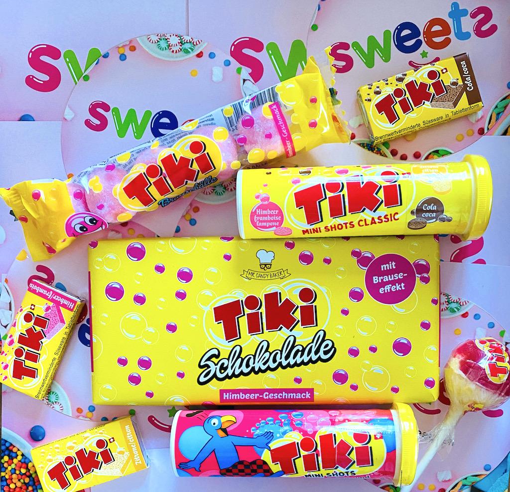 Sweets-ch Tiki Brausepulver und Brauseschokolade