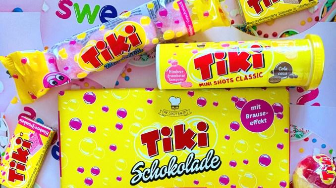 Sweets.ch Tiki Brausepulver und Brauseschokolade