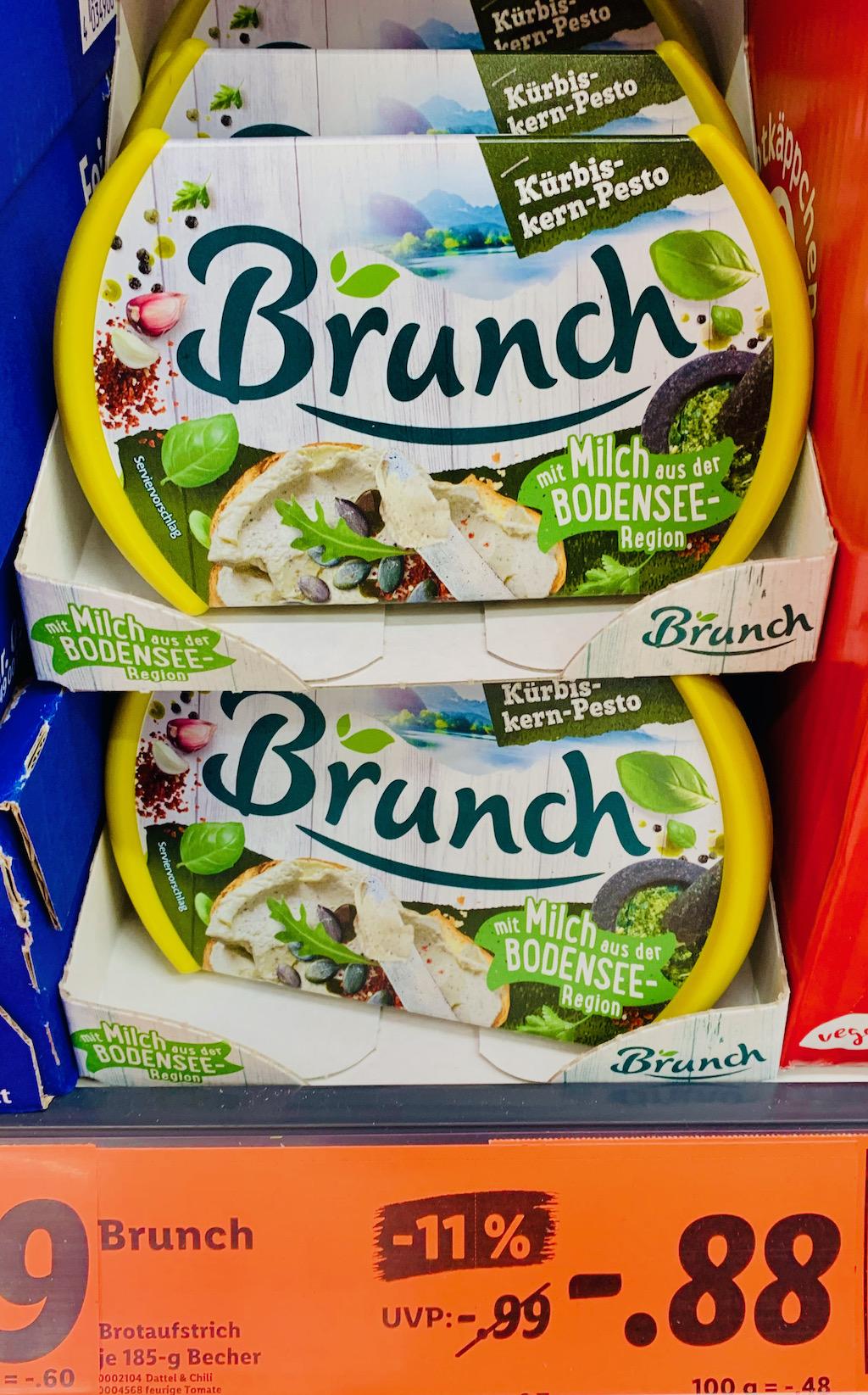 Brunch Kürbiskern-Pesto