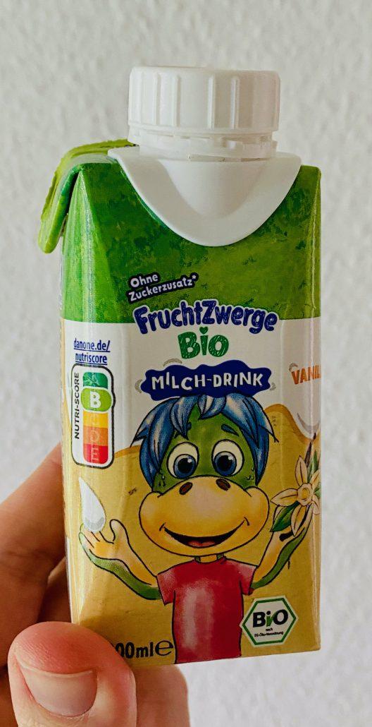 Danone FruchtZwerge Bio-Milch-Drink 100ml Nutri-Score