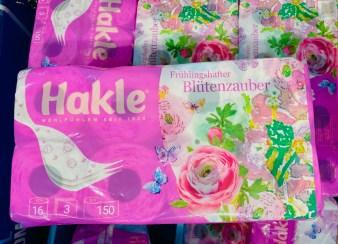 Hakle Frühlingshafter Blütenzauber Toilettenpapier