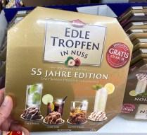 Krüger Trumpf Edle Tropfen in Nuss Gin+Tonic-Cuba Libre-Scotch Whiskey-Vodka Lemon Goldene 55 Jahre Edition mit Gratis-CD