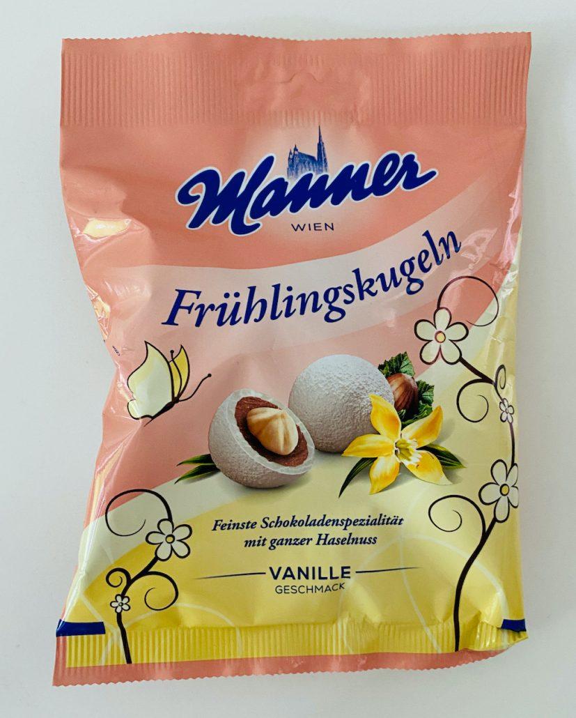 Manner Frühlingskugeln Vanille Ostern 2021