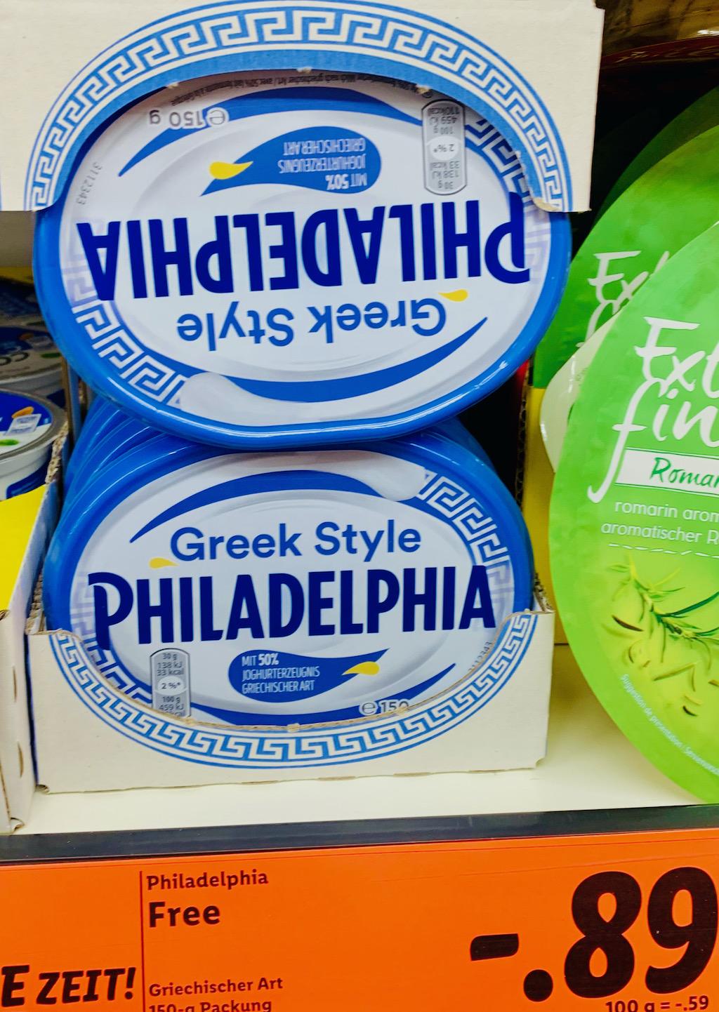Mondelez Philadelphia Greek Style