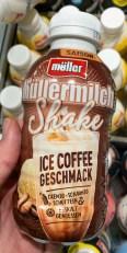 Müllermilch Shake Ice Coffee Geschmack