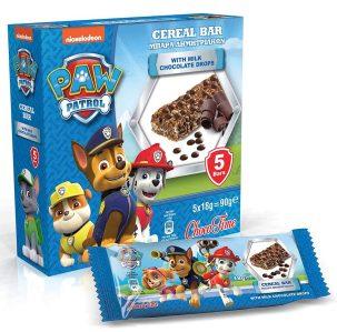 Paw Patrol Cereal Bar Choco Time 5er 90G