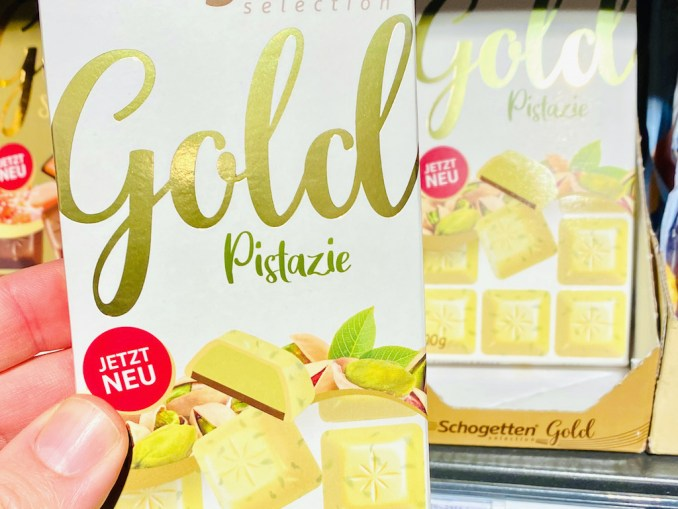 Schogetten Selection Gold Pistazie