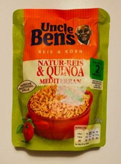 Uncle Ben's Reis+Korn Naturreis+Quinoa Mediterran Mikrowelle 220G