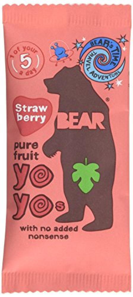 Bear's Time Yoyo Strawberry 20G