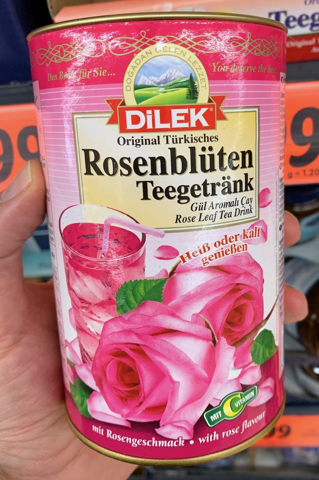 Dilek lösliches Teegetränk Rosenblüten
