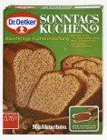 Dr. Oetker_1971_Erstes Backmischung Sonntagskuchen Nußkuchen