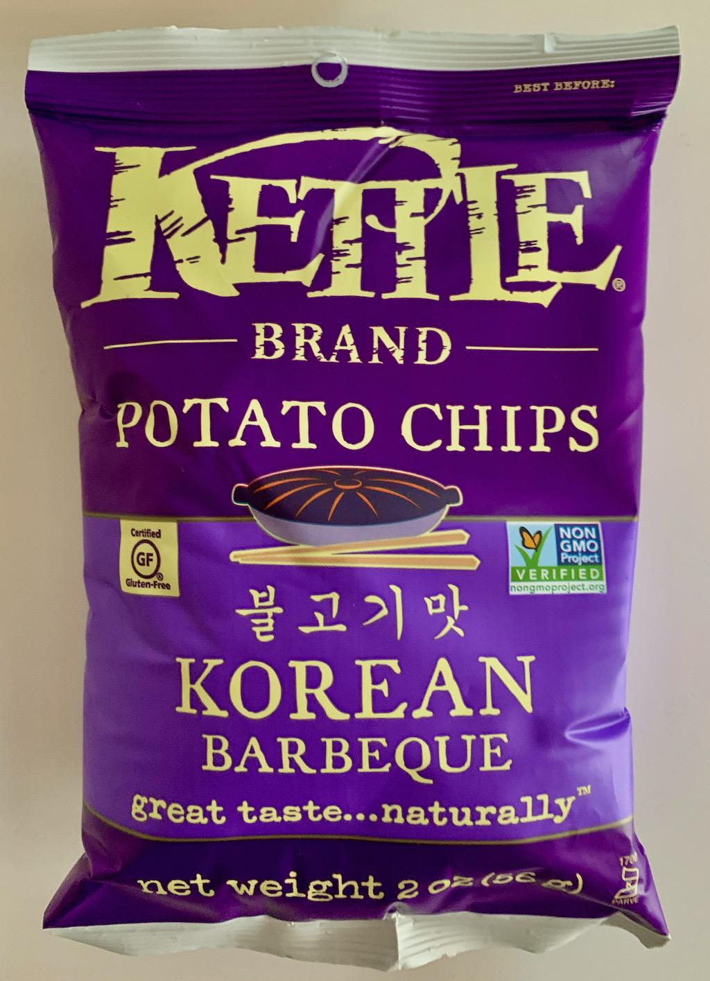 Kettle Potato Chips Korean Barbeque 56G