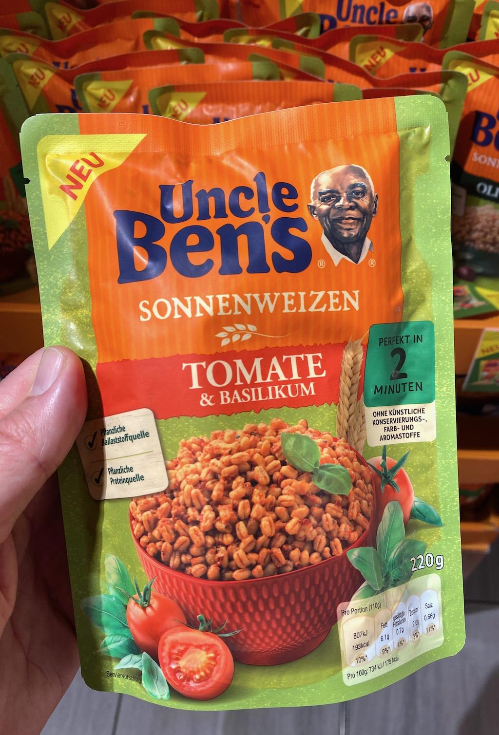Mars Uncle Ben's Sonnenweizen Tomate+Basilikum 220G