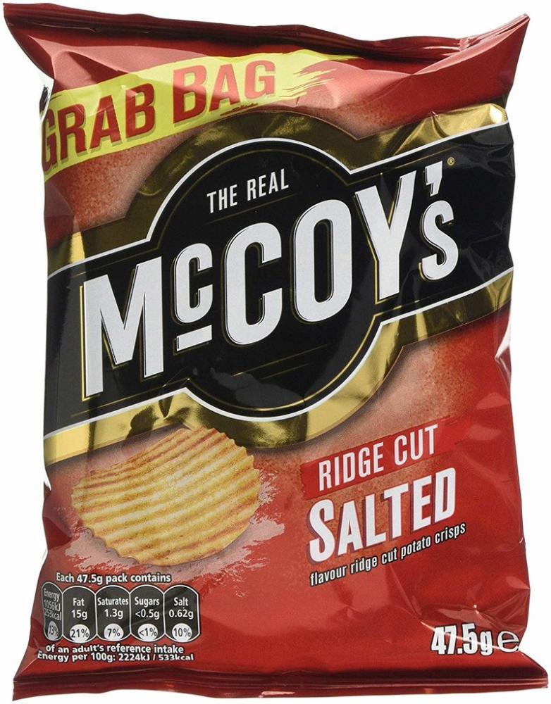 McCoys Ridge Cut Salted 48g