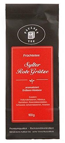 Paulsen Tee Früchtentee Sylter Rote Grütze Erdbeer-Himbeer