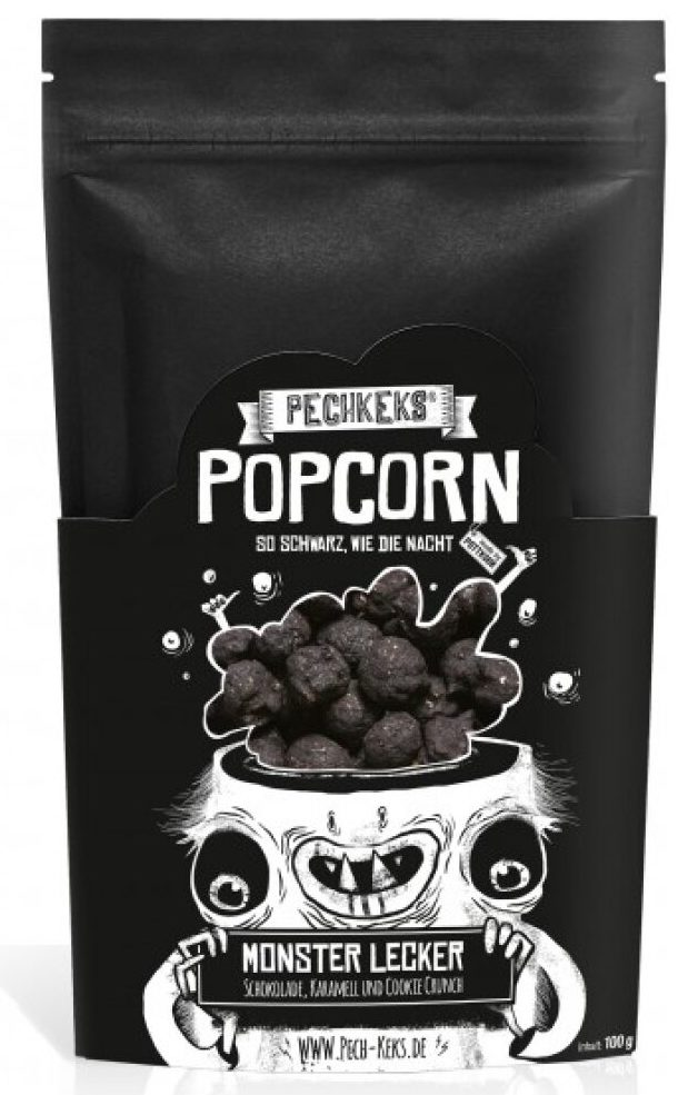 Pechkeks Schwarzes Popcorn