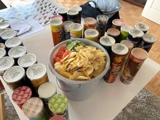 Pringles Neue Sammlung Reinigung