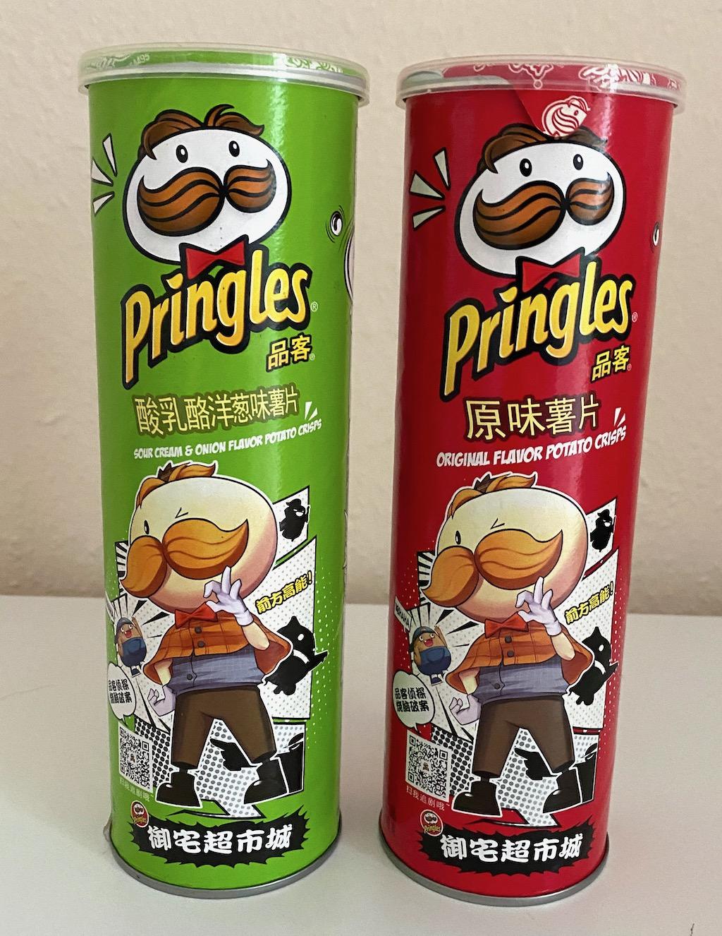 Pringles Original-Sour Cream+Onon Japanisch Comic-Zeichnung
