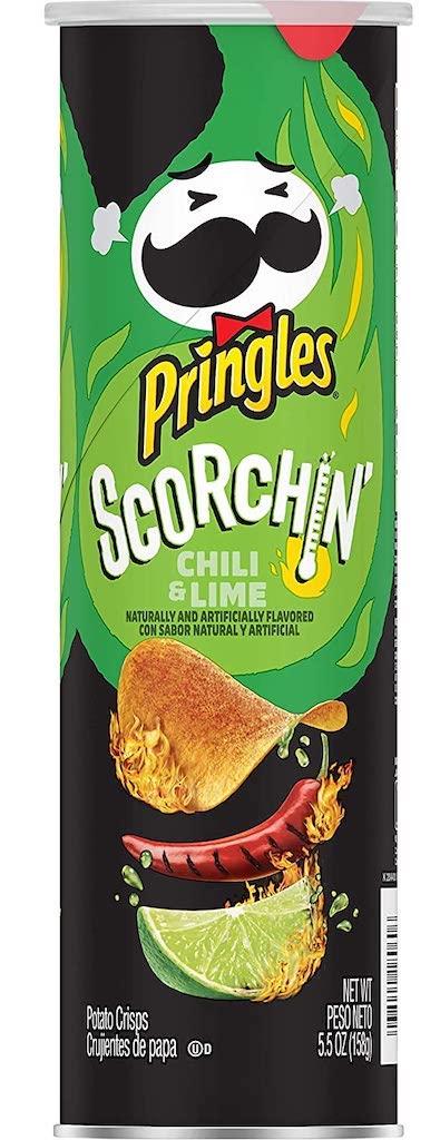 Pringles Scorchin Chili+Lime 156G