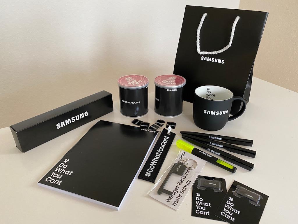 Samsung Werbegeschenke