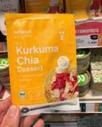 feinstoff Kurkuma Chia Dessert mit ayurvedischen Gewürzen